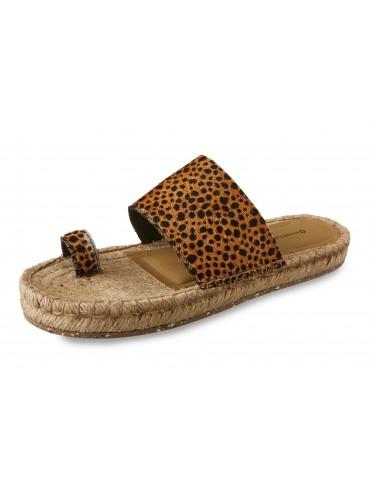 Bola Leopard Calf Hair