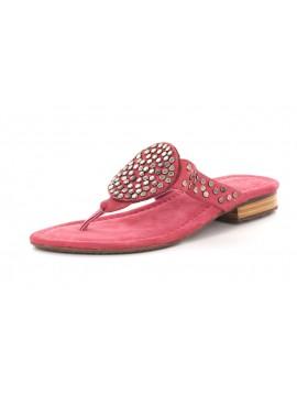 Bianka Pink Suede