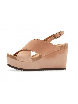Carolena Blush Suede