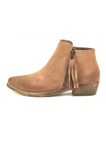 Frida Light Brown Suede