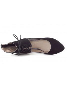Galia Black Suede (Sample)