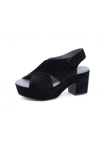 Glam Black Suede