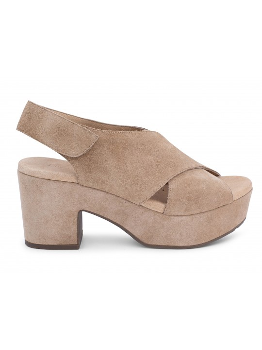 Glam Tan Suede