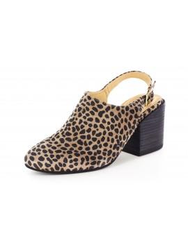 Jenna Leopard Suede