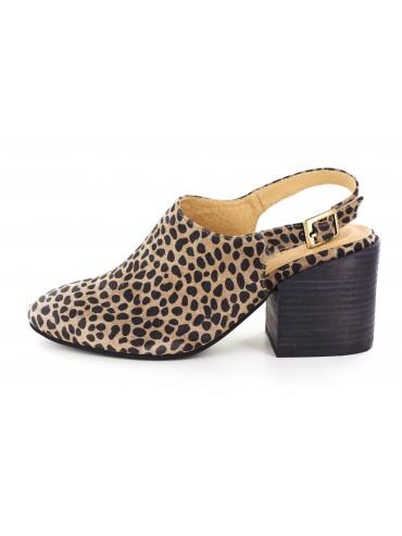 Jaden Leopard Suede