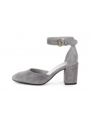 Jan Grey Suede