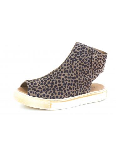 Nala Leopard Suede