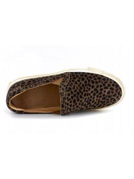 Noella Leopard Suede