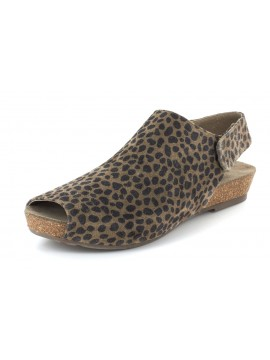 Val Leopard Suede