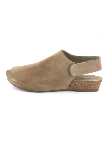 Val Taupe Suede