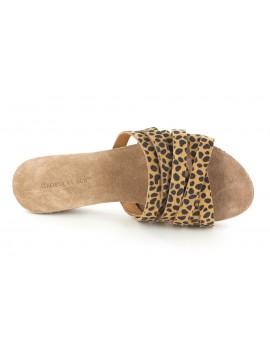 Venus Leopard Suede