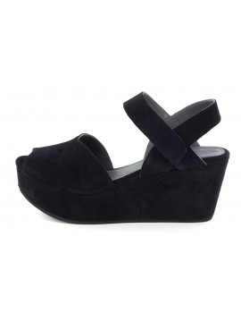 Waffy Black Suede