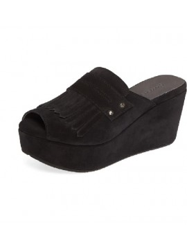 Welsy Black Suede