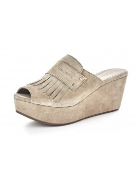 Welsy Taupe Suede