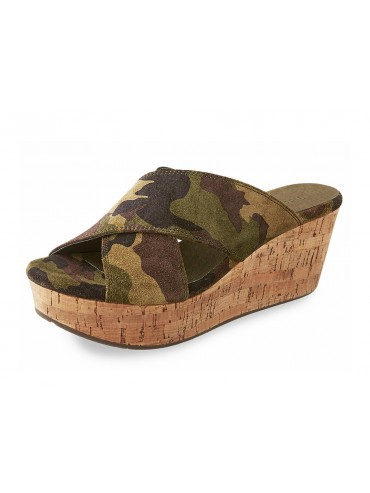 Wendy Military Suede