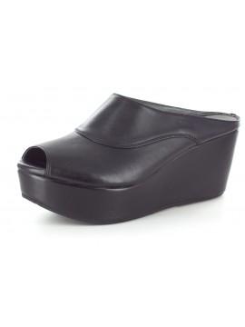 Wind Black Leather