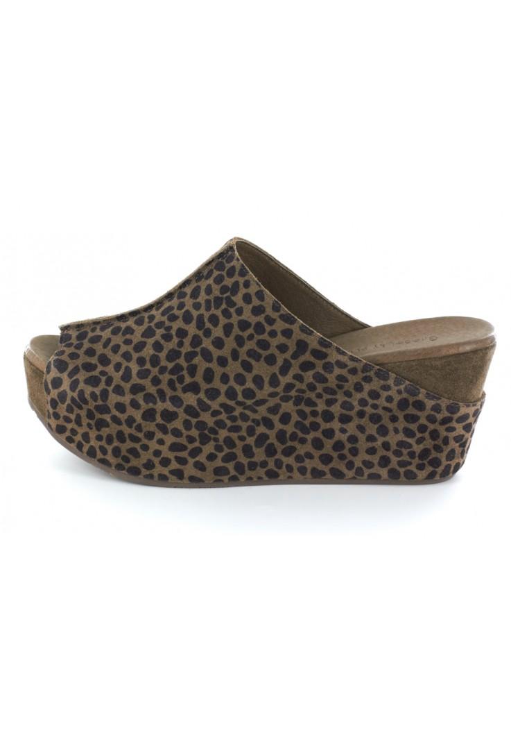 Wynn Leopard Suede