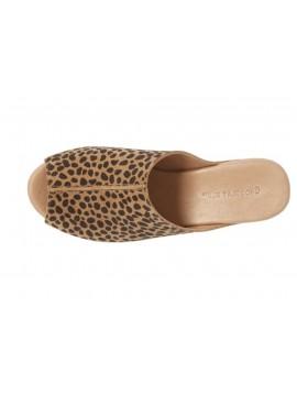 Wynn Tan Leopard Suede