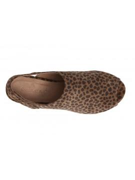 Yana Leopard Suede