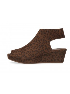 Yessi Leopard Suede