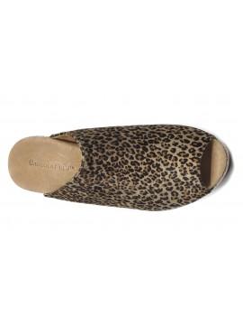 Yiona Grey Leopard Calf Hair